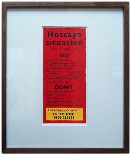 hostage framed